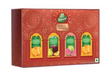 B Natural Juice Festive Pack (4 X 300 ml) PET Juice at Rs. 136