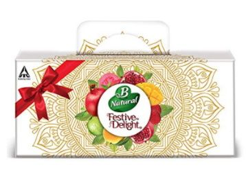 B Natural Juice Festive Delight Assorted Premium Pack, 1.8 L (10 X 180 ml) at Rs. 164
