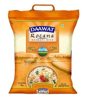 Daawat Rozana Super Basmati Rice, 5kg Worth Rs. 435 at Just Rs. 309