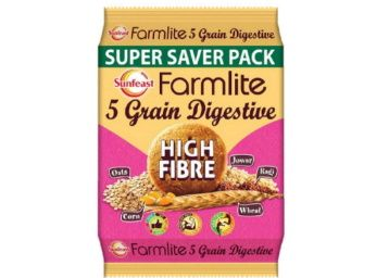 Sunfeast Farmlite Digestive High Fibre Biscuits, 1kg at Rs. 108