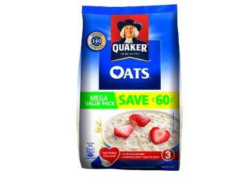 Quaker Oats, 2kg at Rs. 275