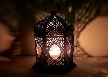 The Purple Tree Moroccan Lantern Lamp Tealight Candle Holder