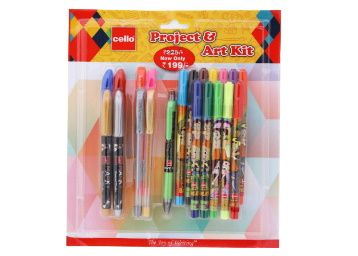 Cello Project and Art Kit at Rs. 122