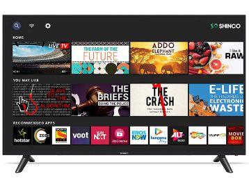 Shinco 109 cm (43 inches) Full HD LED Smart TV SO43AS (Black) (2020 model)