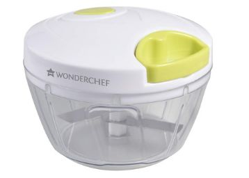 Wonderchef - 63152935 String Plastic Chopper, White and Green