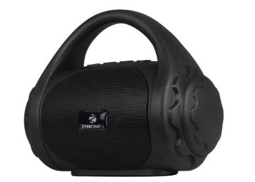 Zebronics Zeb-County Bluetooth Speaker with Built-in FM Radio, Aux Input and Call Function (Black) at Rs. 695