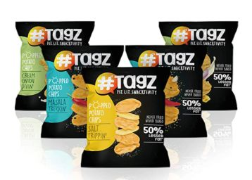 Tagz -Popped Potato Chips- Combo1 ( Pack of 5)