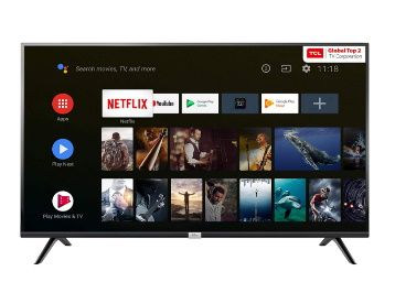 TCL 80 cm (32 inches) HD Ready Certified Android Smart LED TV at Rs. 11999