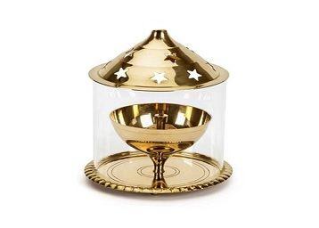 Wacky Brass Golden Akhand Diya
