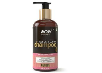 WOW Frizz Defy Luster Shampoo, 300mL