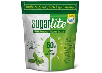 Sugarlite : 50% Less calories Sugar Pouch, 100 gm