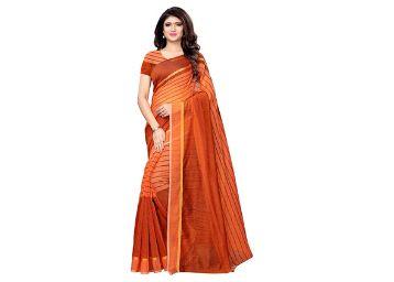 Satrani Cotton Saree with Blouse Piece