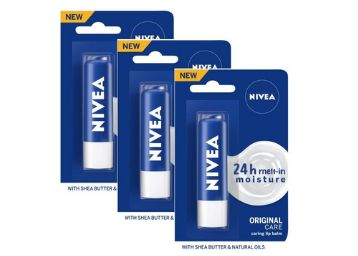 Nivea Essential Care Lip Balm, 4g (Pack of 3)