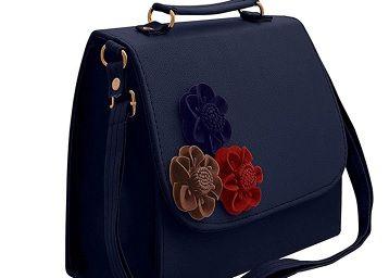 Envias Leatherette Side Sling Bags For Women