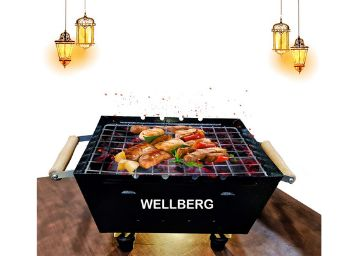 Wellberg Charcoal Grill Barbecue