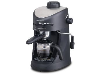 Morphy Richards Espresso and Cappuccino 4-Cup Coffee Maker