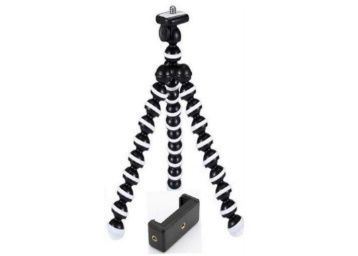 Tygot 13 inch Flexible Gorillapod Tripod with Mobile Attachment for DSLR At Rs. 399