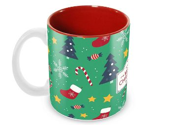 Tuelip Printed Tea and Coffee Ceramic Mug