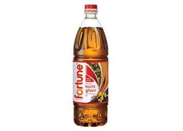 Fortune Kachi Ghani Pure Mustard Oil, 1L (Pet Bottle) At Rs. 141