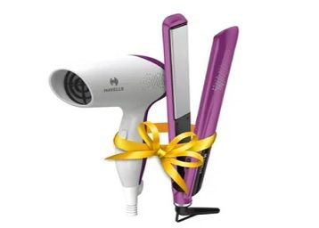 Havells HC4025 Limited Edition Styling Pack - Purple