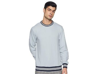 Inkast Denim Regular Fit Cotton Blend Sweatshirt