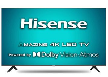 Hisense 108 cm (43 inches) 4K Ultra HD Smart Certified Android LED TV (2020 Model) At Rs. 25990