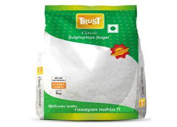 Trust Classic Sulphur less Refined Sugar, 5kg AT Rs. 219