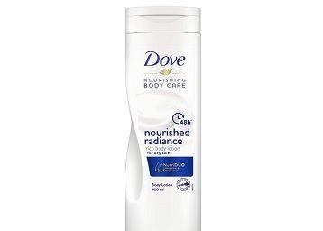 Dove Nourishment Radiance Body Lotion, 400 ml