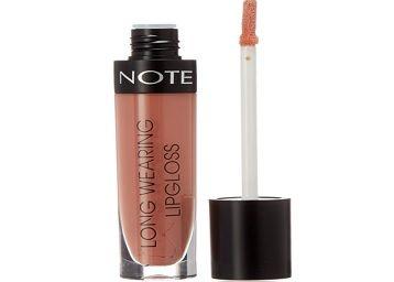 NOTE Long Wearing Lip Gloss 04, Beige, 6ml