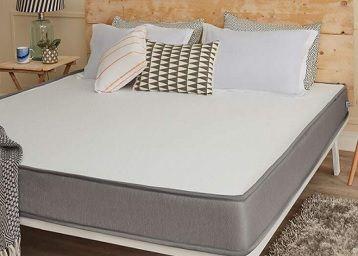 Dual Comfort Mattress - Hard & Soft, Queen Bed Size (78x60x5)
