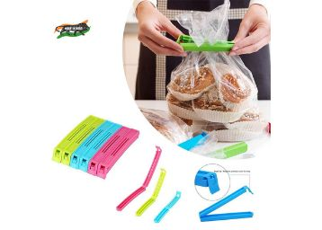 VR 18 Pcs - 3 Different Size Plastic Food Snack Bag Pouch Clip