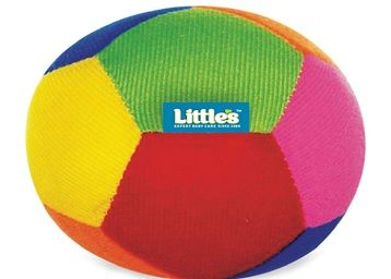 Little's Soft Baby Ball with Rattle Sound (11 cm)