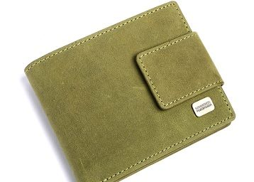 Hammonds Flycatcher RFID Protected Moss Green Vintage Leather Wallet for Men|12 Card Slots| 1 Coin Pocket|2 Hidden Compartment|2 Currency Slots|1 ID Slot