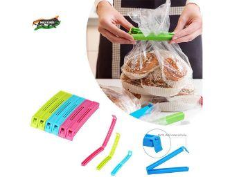 VR 18 Pcs - 3 Different Size Plastic Food Snack Bag Pouch Clip Sealer