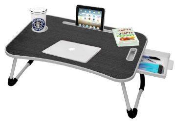 Callas Multipurpose Foldable Laptop Table with Cup Holder