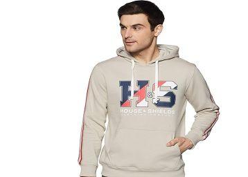 Amazon Brand - House & Shields Men Hooded Sweatshirt