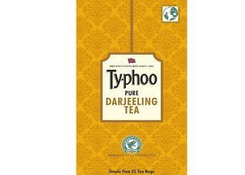 Typhoo Darjeeling Black Tea Bags (25 Tea Bags)
