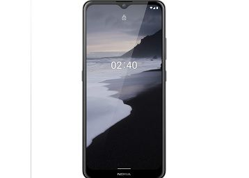 Nokia 2.4 Android 10 Smartphone with Large HD+ Screen, Night Mode and Portrait Mode, 2-Day Battery Life | Charcoal Colour