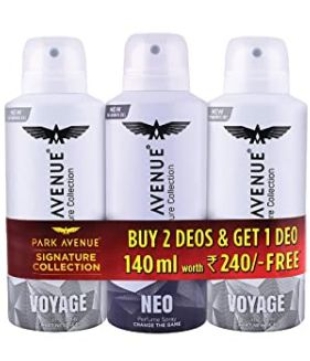 Park Avenue Deodorant Buy 2 Get 1 Free (140ml *3)