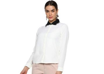 FRATINI WOMAN Solid Casual Shirt for Women