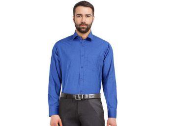 STOP by Shoppers Mens Slub Formal Shirt