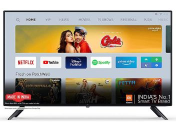 MI TV 4A 100 cm (40 Inches) Full HD Android LED TV (Black)