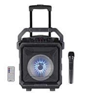 41% Off On Zoook Rocker Thunder XL 50 watts Trolley Karaoke Bluetooth Party Speaker with Remote, Built-in Amplifier & Wireless Mic (Black)