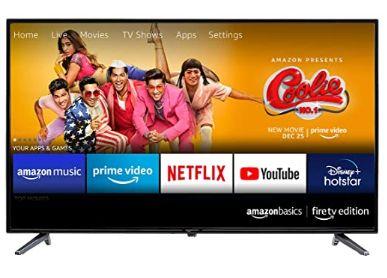 AmazonBasics 81cm (32 inches) Fire TV Edition HD Ready Smart LED TV