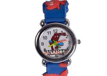 SWADESI STUFF Analog Unisex-Child Watch (Multicolored Dial, Multicolored Strap)