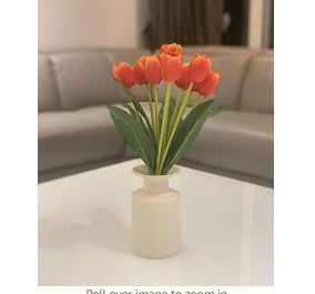 Fourwalls Beautiful Artificial Tulip Flower Bunch for Home décor