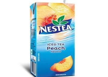Nestea Iced Tea Ready to Drink Peach Flavor, 200ml Tetra Pack