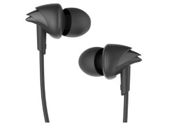 boAt Bassheads 100 in Ear Wired Earphones with Mic At Rs. 379