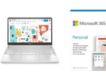 HP Chromebook 14a-na0003TU 14-inch Thin & Light Touchscreen Laptop At Rs. 26589