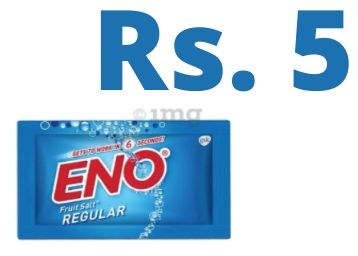RARE ON DISCOUNT : Eno Powder [ Pack of 9 ] At Just Rs. 5